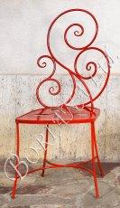 Стол червен